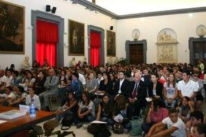 VII convegno APRE in cui sono stati inaugurati i Centri Italia Felice, sotto l'Alto Patronato del Presidente della Repubblica